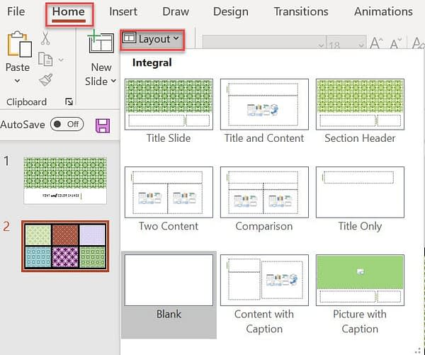 create blog and social media images in PowerPoint