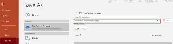 How to Save a PowerPoint slides as Images